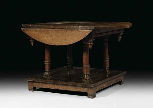 runder klapptisch george i england um 1630 50. Black Bedroom Furniture Sets. Home Design Ideas
