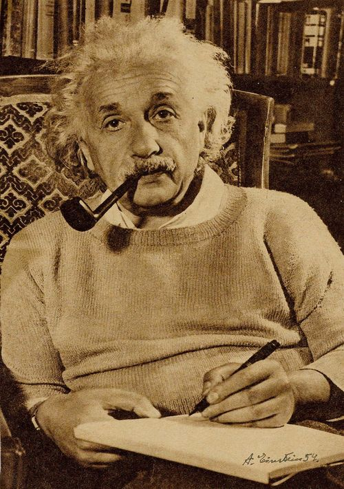 Einstein, Albert, Physiker (1879-1955).
