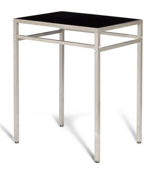 eileen gray zugeschrieben tisch entwurf um 1930 schwarzer. Black Bedroom Furniture Sets. Home Design Ideas