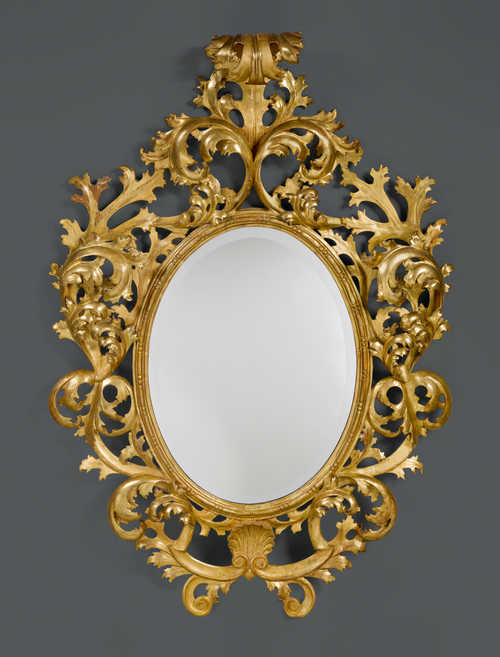 OVAL MIRROR,