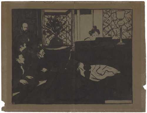 vallotton felix lausanne 1865 1925 la symphonie