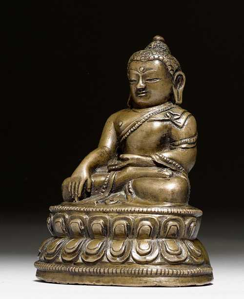 kleine buddha figur tibet 14 15 jh h 9 cm. Black Bedroom Furniture Sets. Home Design Ideas