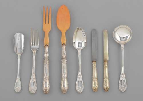PIECES FROM A CUTLERY SET,