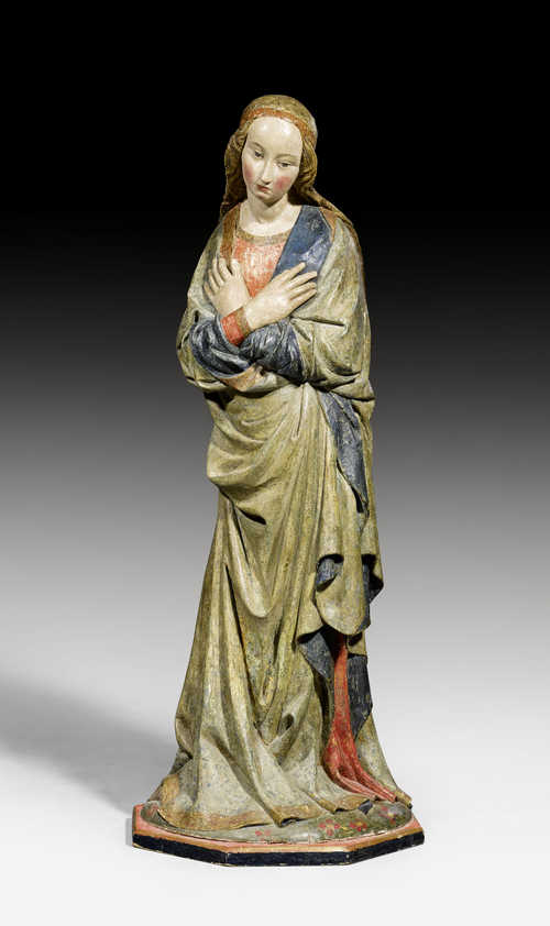 MARY, FROM AN ANNUNCIATION GROUP,