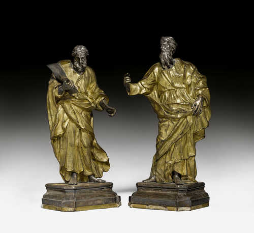 PAIR OF EVANGELISTS,
