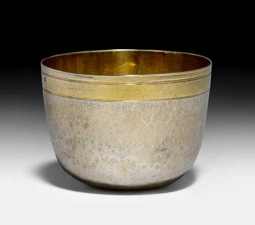 SILVER-GILT PALM CUP,
