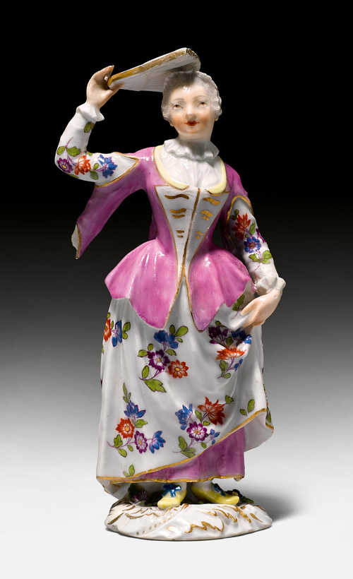 FIGURE OF A POLISH NOBLE LADY,