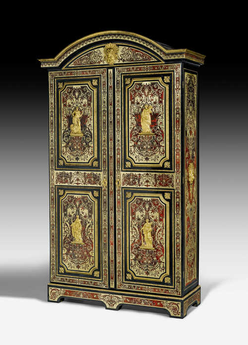 IMPORTANT CABINET WITH BOULLE MARQUETRY,