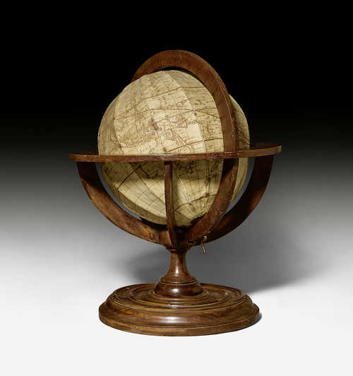 TABLE GLOBE ON STAND,