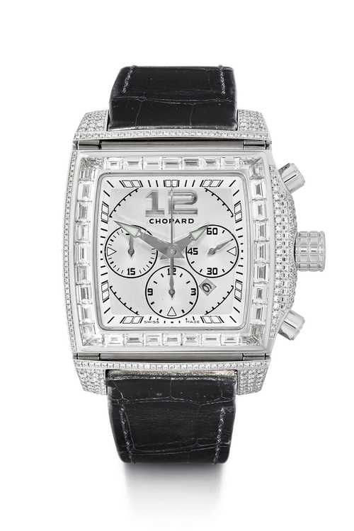 "Chopard ""Two o Ten"" diamond Chronograph, ca. 2010."