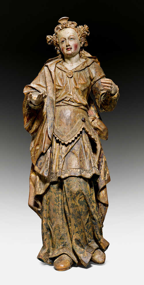 A FIGURE OF A SAINT,