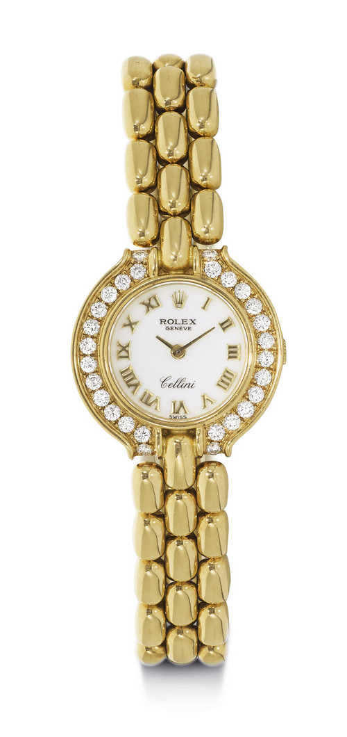 Rolex Cellini Lady's Wristwatch, 1990s.
