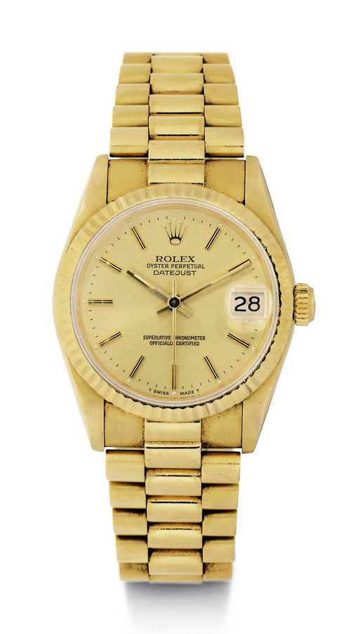 Rolex Oyster medium size, ca. 1986.