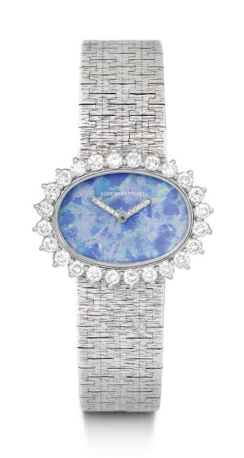 Audemars Piguet, Diamond Lady's Wristwatch, 1977.