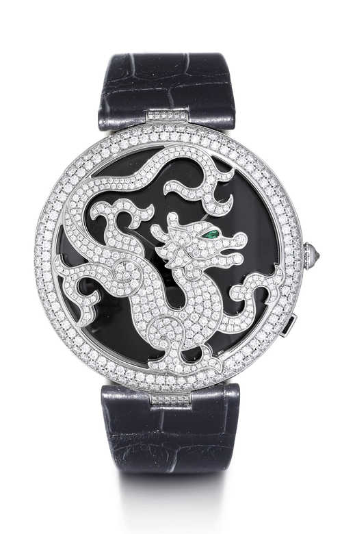 "Cartier ""Decor Dragon""."