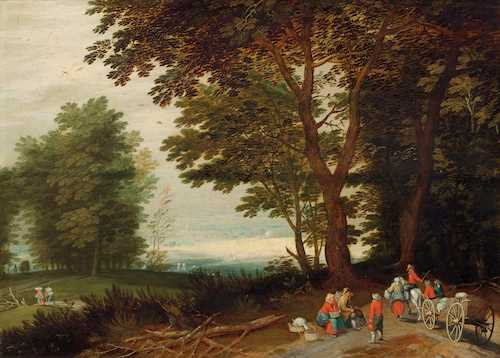 JAN BRUEGHEL THE ELDER (17TH CENTURY FOLLOWER OF)