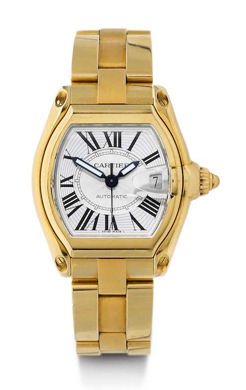 Cartier, Roadster Gentleman's Wristwatch.