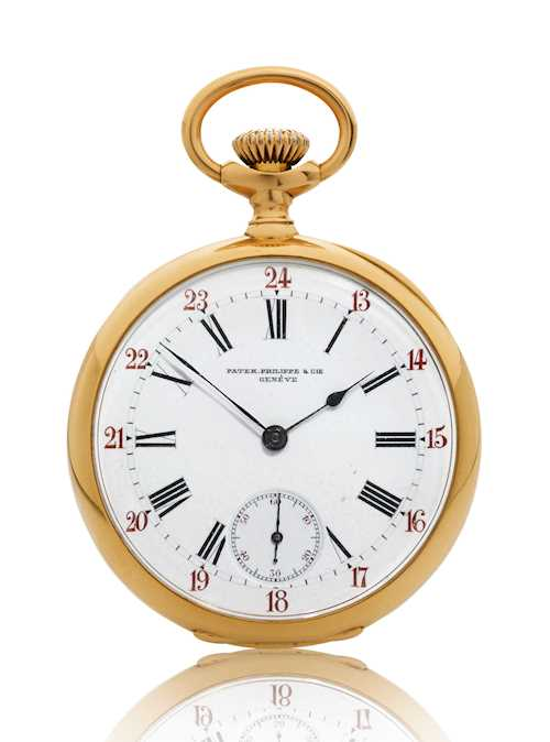 Patek Philippe, elegant Pocket Watch, 1897.