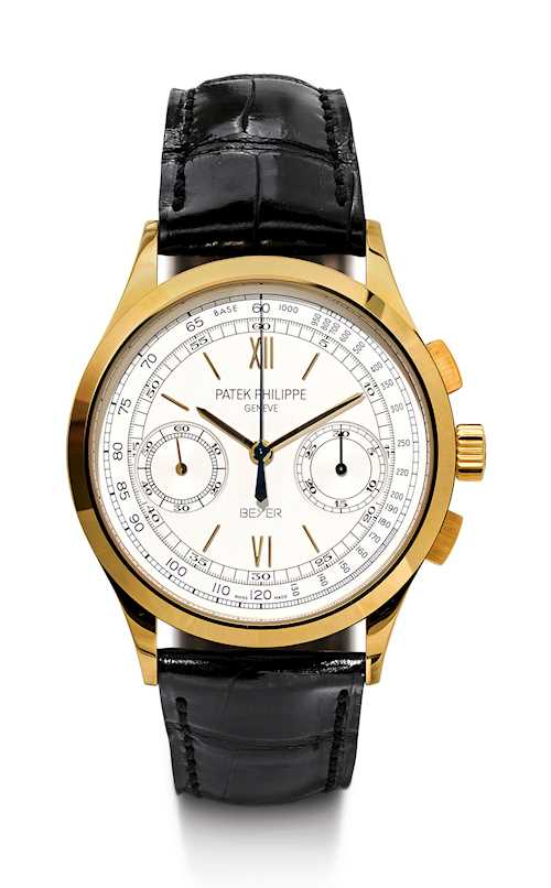 "Patek Philippe. Very rare ""Beyer Jubilee Chronograph"", 2010."