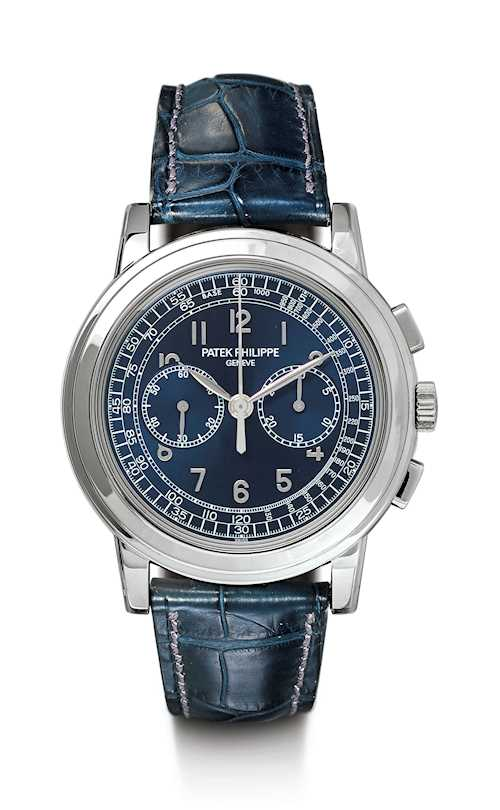 Patek Philippe. Extremely rare Chronograph, 2008.
