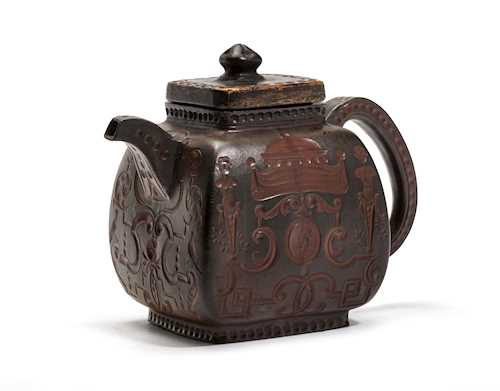 BÖTTGER STONEWARE TEA POT