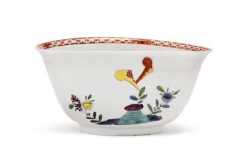 "BOWL WITH ""FAMILLE-VERTE"" DECORATION"