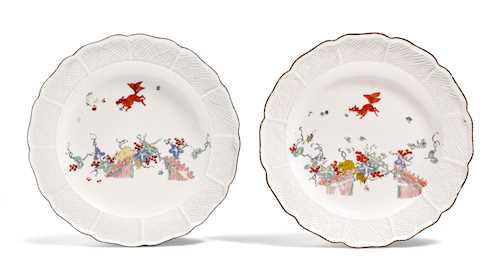 "TWO PLATES ""FLYING SQUIRREL"""