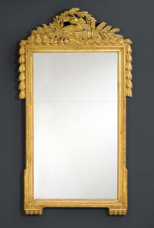 grosser spiegel aux colombes d 39 amour louis xvi paris um. Black Bedroom Furniture Sets. Home Design Ideas