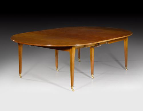 OVAL EXTENDABLE TABLE,