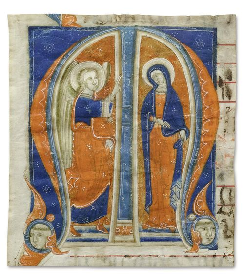 Illuminator close to the Master of Sant'Alessio a Bigiano, ca. 1270-80,
