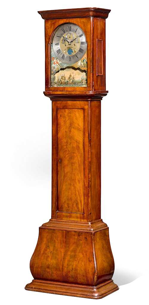 LONG-CASE CLOCK WITH AUTOMATION AND MOON PHASE