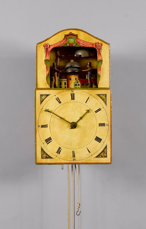 "CLOCK WITH BELL-RINGER AUTOMATION, so-called ""Glockenschlägeruhr"","