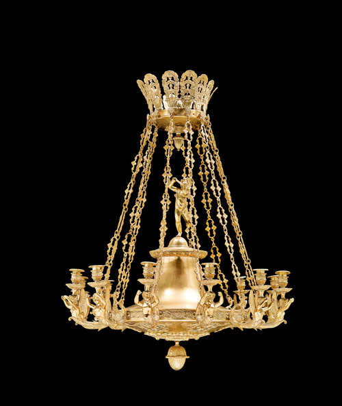 "CHANDELIER ""AUX ANGELOTS"","