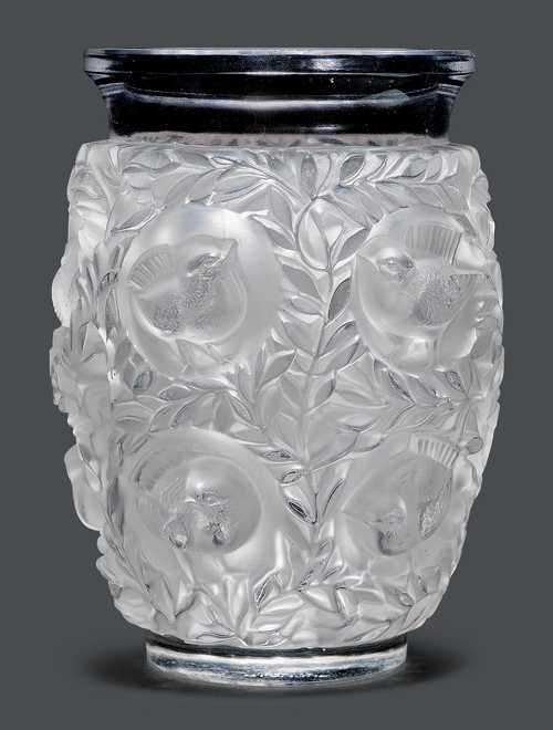 Rene Lalique Vase Bagatelle Um 1940 Farbloses Glas Form