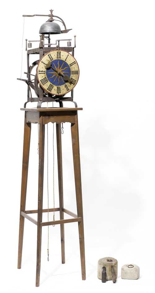 SMALL TOWER CLOCK,