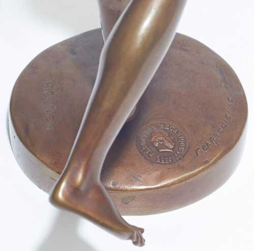 bronzeskulptur der diana nach jean antoine houdon 1741 182