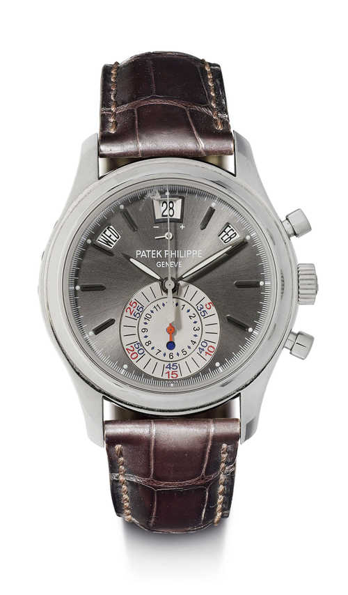 Patek Philippe flyback chronograph with date, 2009.