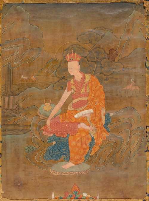 A FINE THANKA OF A TAI SITU FROM THE KARMA-KAGYU SCHOOL.