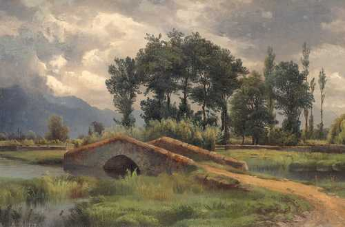 ALEXANDRE CALAME, (From the circle of)