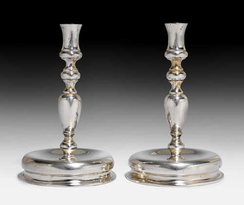 PAIR OF CANDLESTICKS,