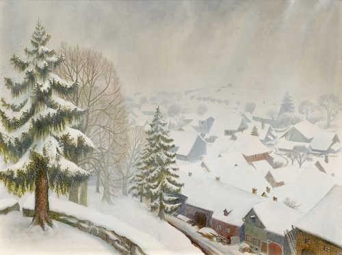 26f662017f55 Otto Dix. Wintertag in Randegg. 1933. Mixed media on panel. 60 x 80 cm.  Estimate  CHF 70 000   100 000