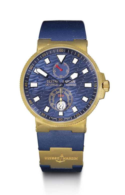 "Ulysse Nardin, ""Blue Wave"" Limited Edition, 2005."