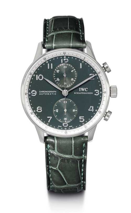 Limited edition, IWC Portuguese Chronograph, automatic.
