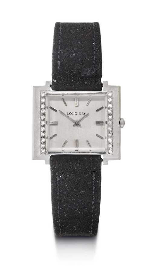 Rare, Longines diamond Lady's wristwatch, 1960s.