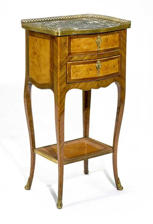 GUERIDON WITH WRITING DRAWER,
