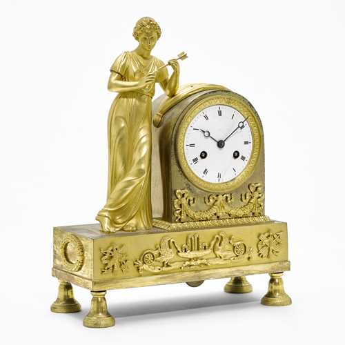 "MANTEL CLOCK ""Allegory of Love"","
