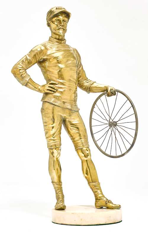 FIGURE OF A CYCLIST,