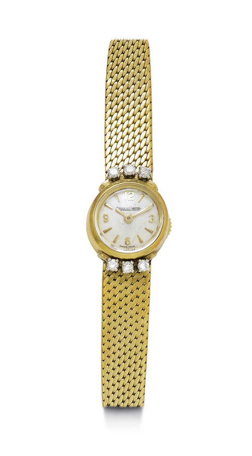 Jaeger Le Coultre miniature Lady's Wristwatch, 1950s.