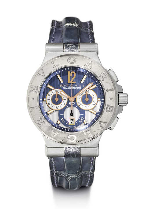 "Bulgari, Chronograph ""Calibro 303"", 2010."