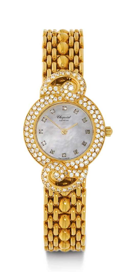 Chopard Diamant-Damenuhr.